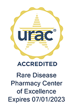 URAC Accredited Rare Disease Pharmacy Center